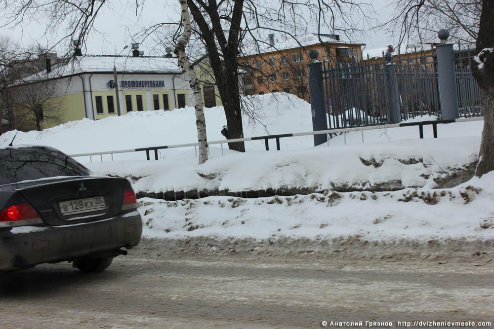 Снег на улицах Вологды на 20 марта 2013 года (23)