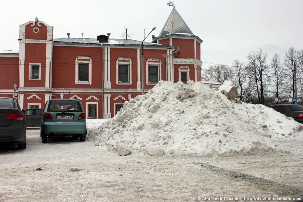 Снег на улицах Вологды на 20 марта 2013 года (26)