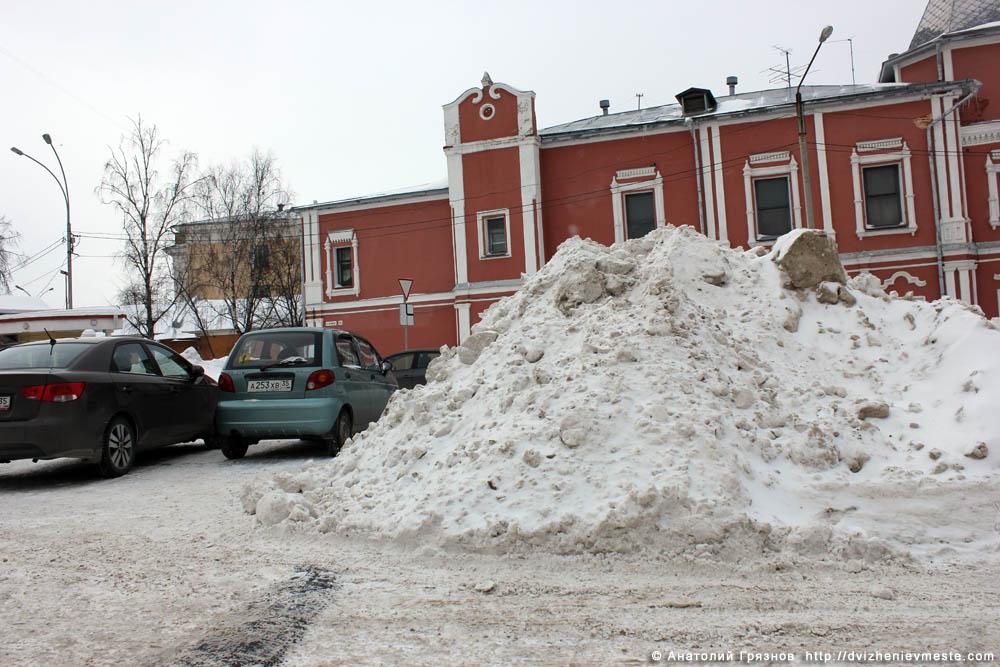 Снег на улицах Вологды на 20 марта 2013 года (27)