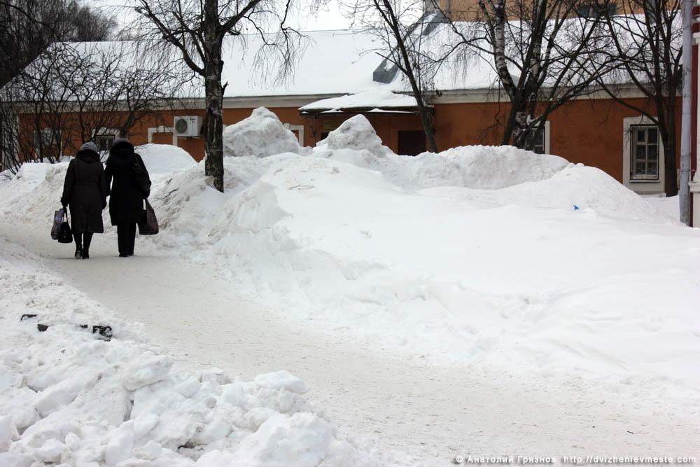 Снег на улицах Вологды на 20 марта 2013 года (28)