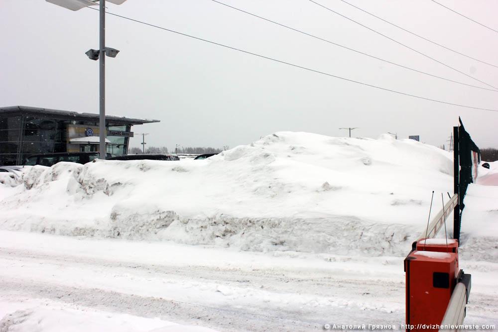 Снег на улицах Вологды на 20 марта 2013 года (34)