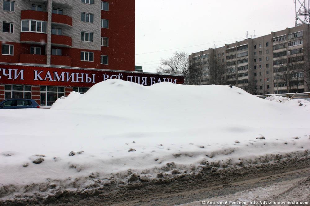 Снег на улицах Вологды на 20 марта 2013 года (35)