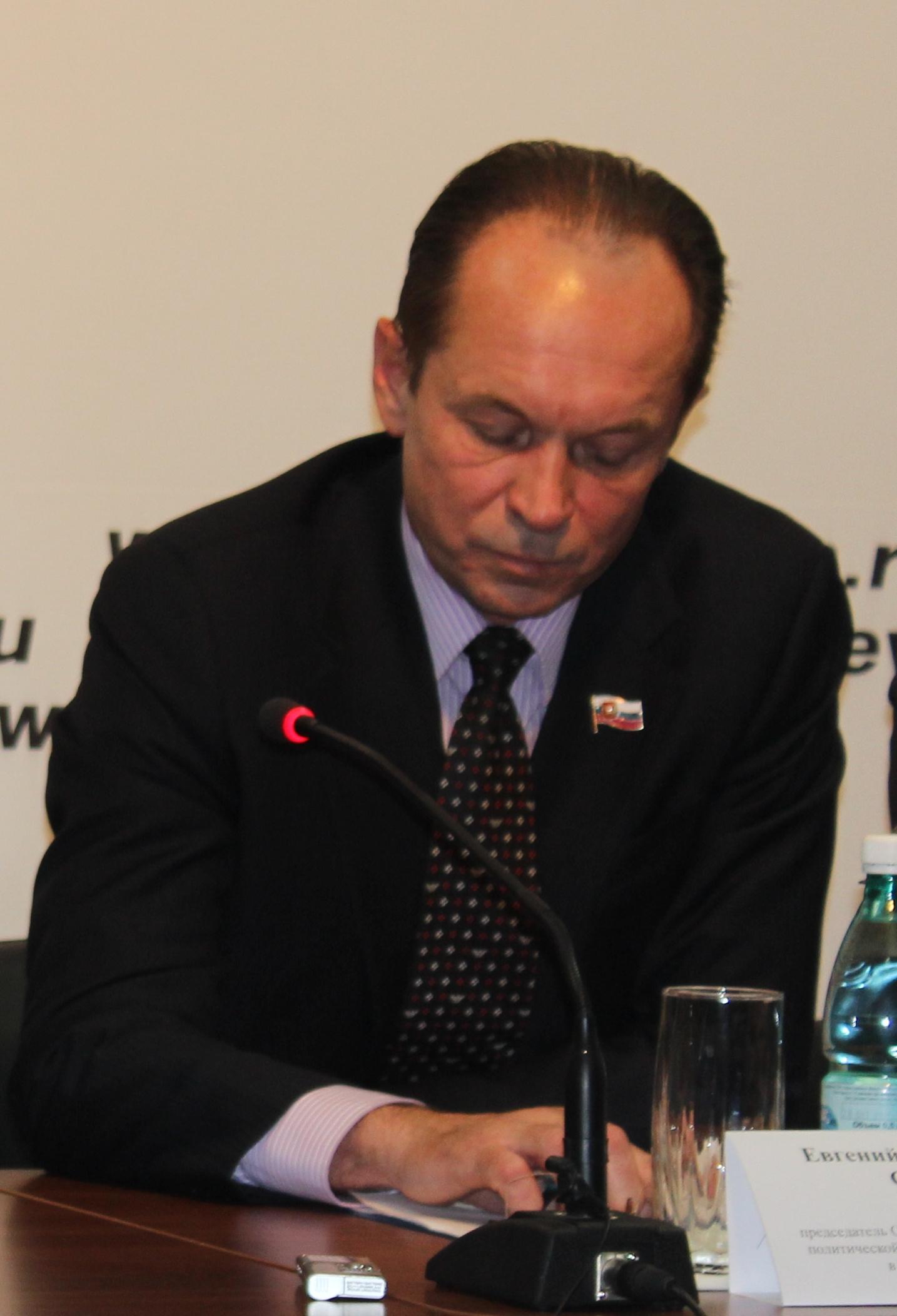 Евгений Суров погрустнел