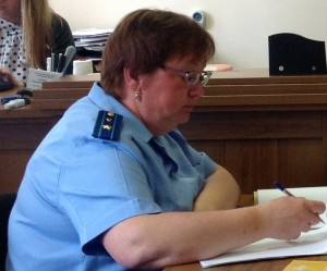 Прокурор  Шпынева