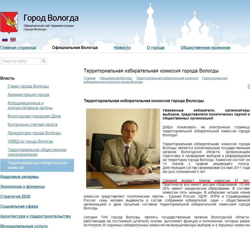 ТИК о выборах