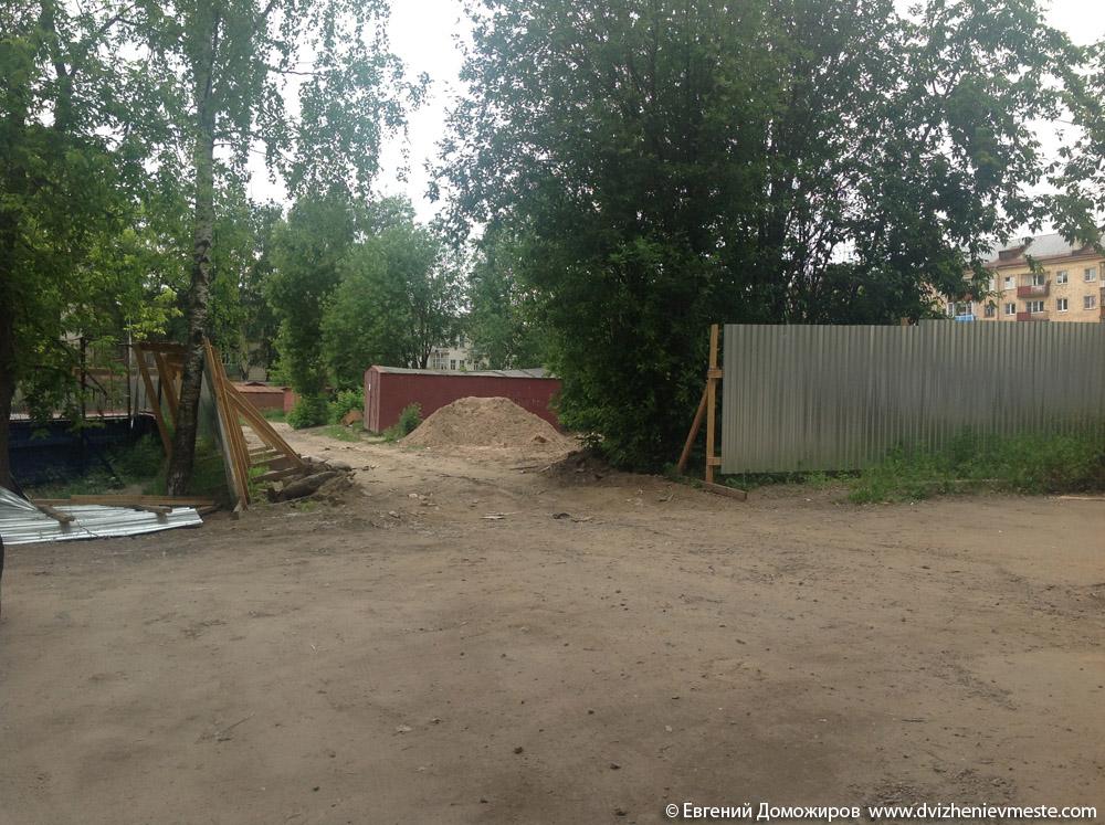 Стройка на Горького 158 (2)