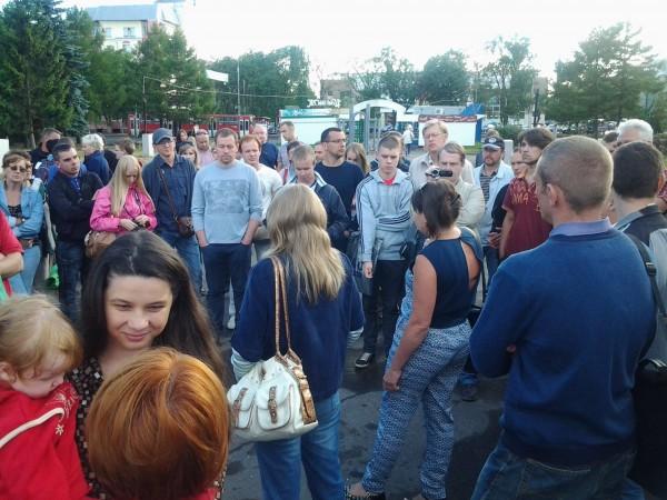 Народный сход. Вологда. Навальный