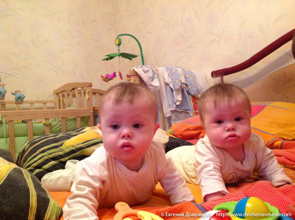 Настя и Катя Доможировы