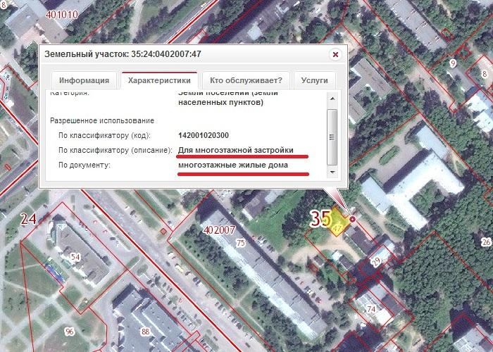 Участок Тендрякова 46А в ПКК для многоэтажной застройки