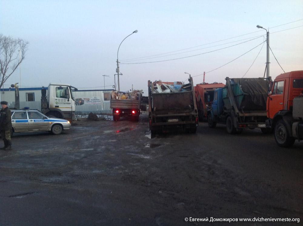 Вологда. полигон ТБО на Мудрова
