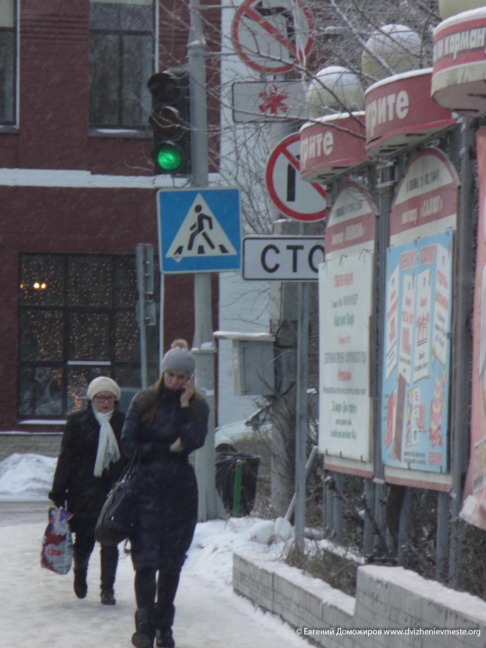 Вологда. улица Козленская. поворот на улицу Марии Ульяновой (2)