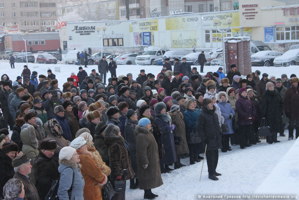 Череповец. Митинг против Дезавида 25 января 2016 года (4)