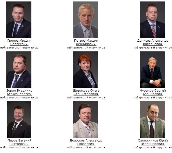 Вологодская городская Дума. Депутаты 3