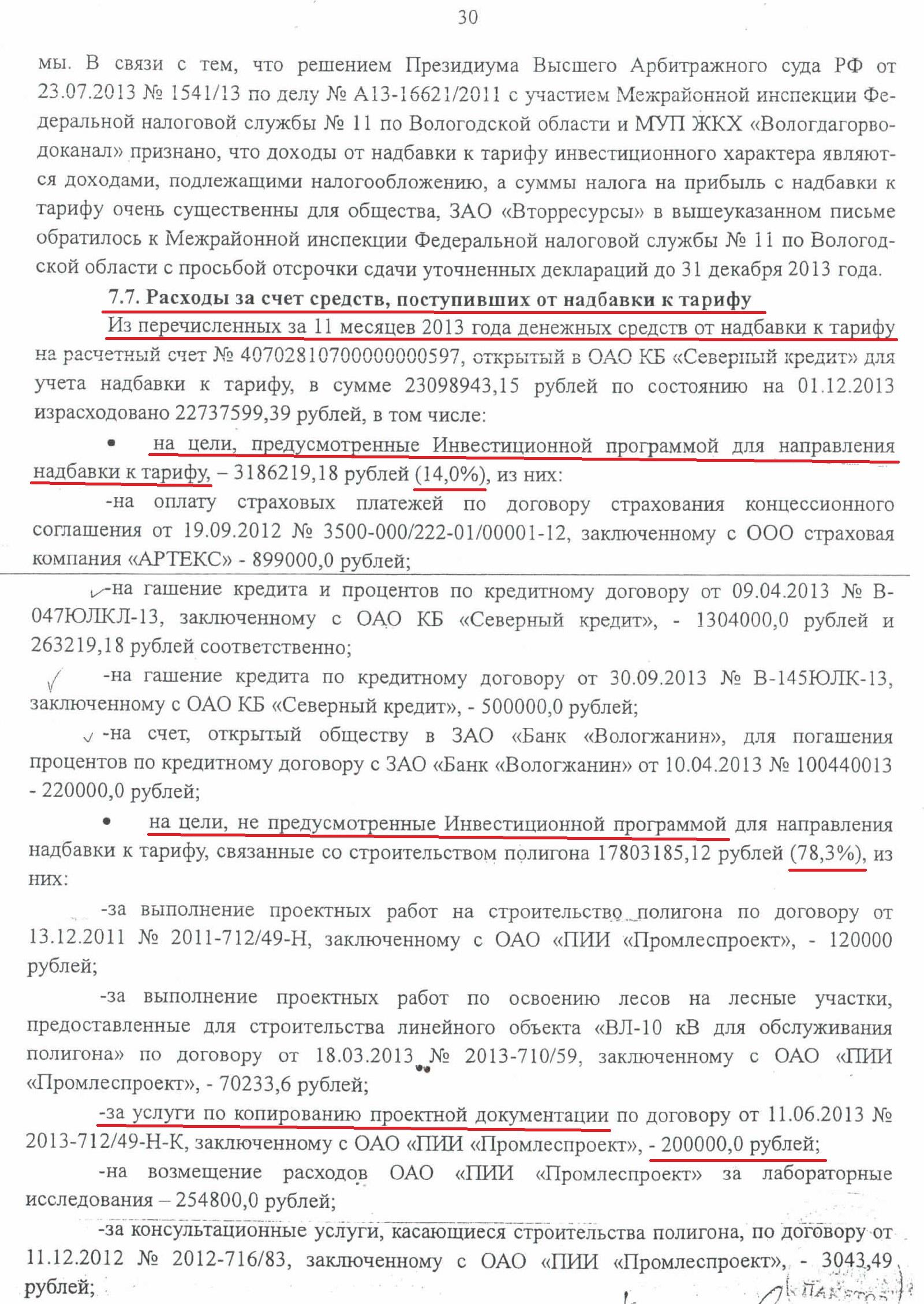 Акт проверки КСП по полигону ТБО стр.30 нецелевое расходование средств