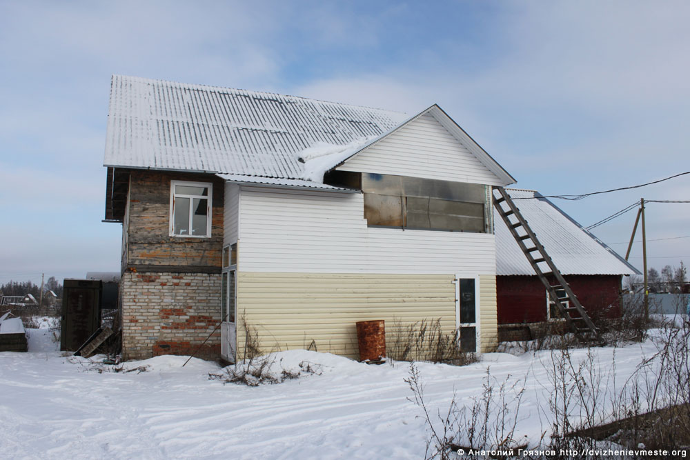 Дом, баня и участок ветерана войны Николая Беляева (5)