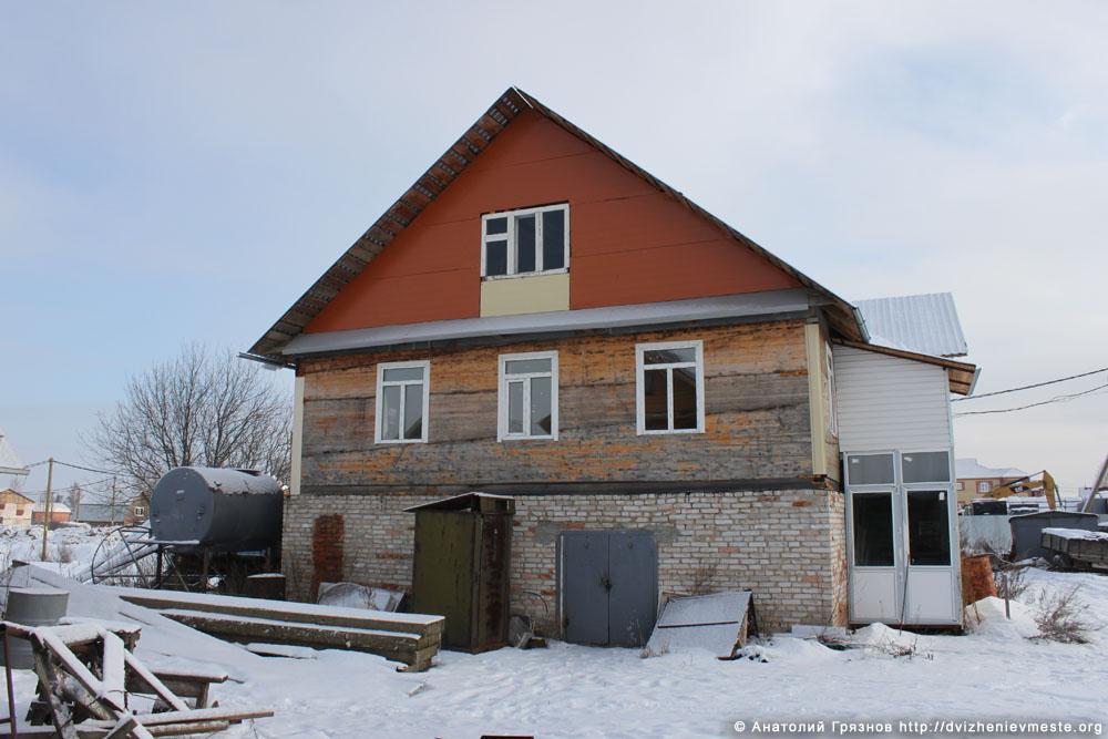 Дом, баня и участок ветерана войны Николая Беляева (8)