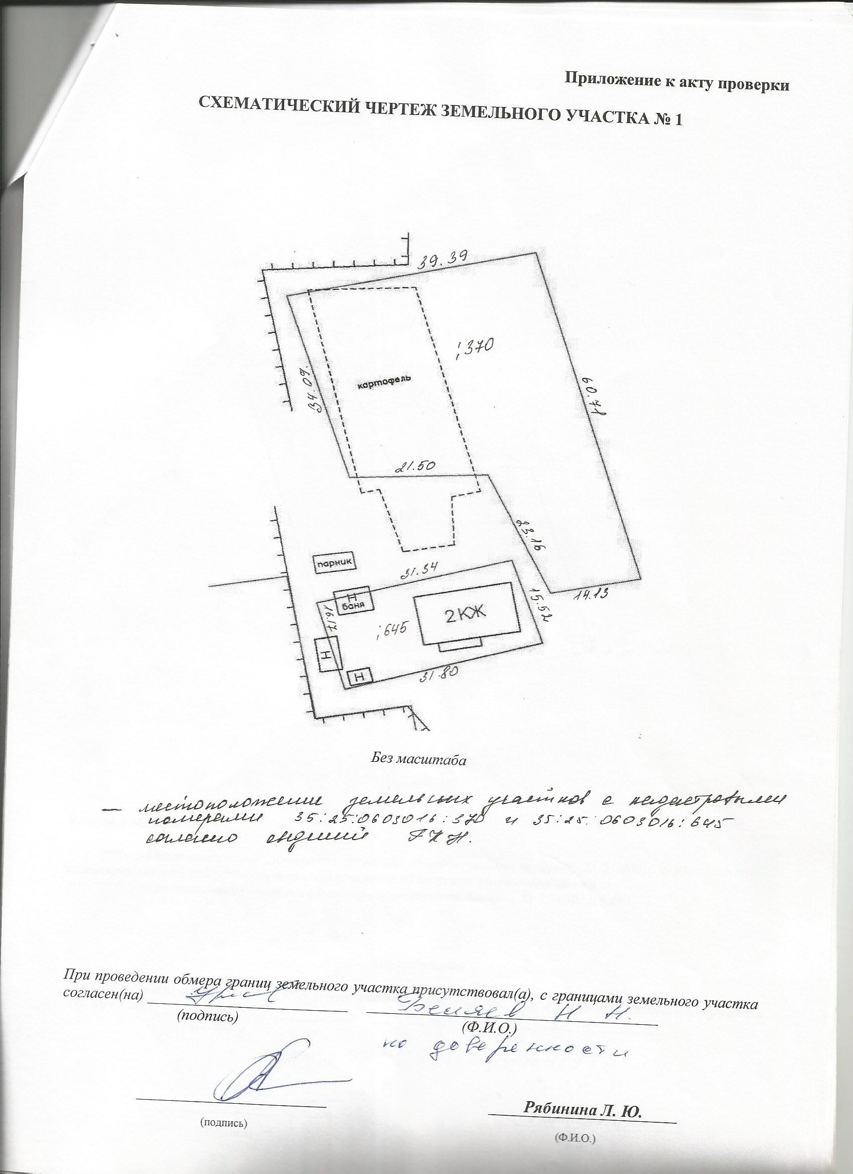 вид участка на кадастровом плане (3)