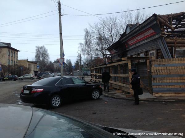 Вологда культурная столица Русского севера. Снос дома на  улице Воровского (8)