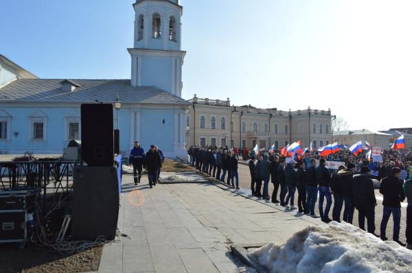 Путинг в Вологде 10 марта