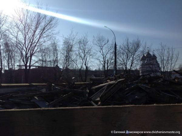 Уничтожение культурного наследия в Вологде (3)