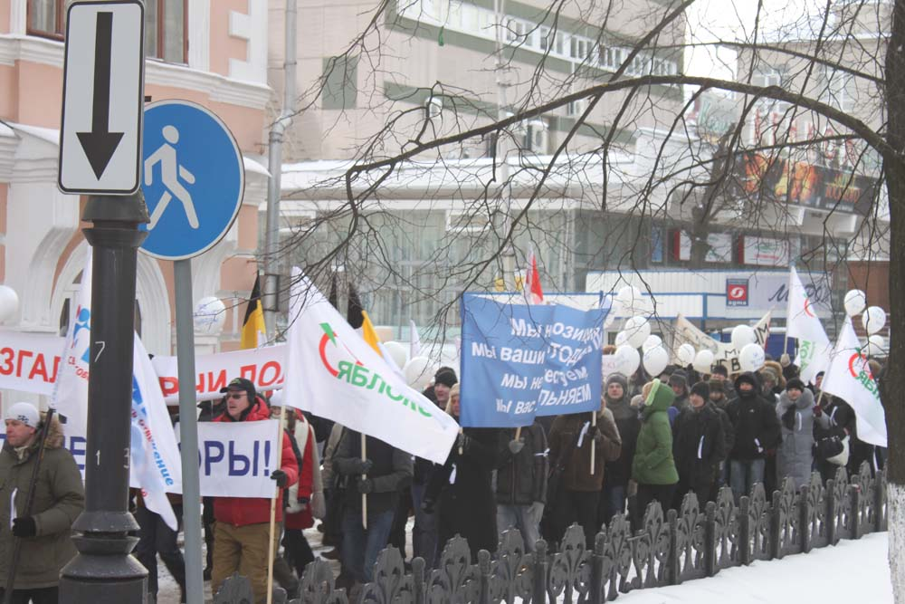 Шествие 4-го февраля в Вологде
