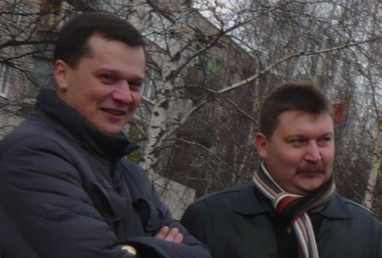Гуляев Сергей, Полянский Сергей - начальнички Вологодского ЦПЭ