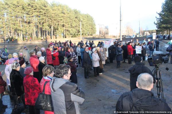 Митинг в Кадуе в защиту школы 3№ (34)