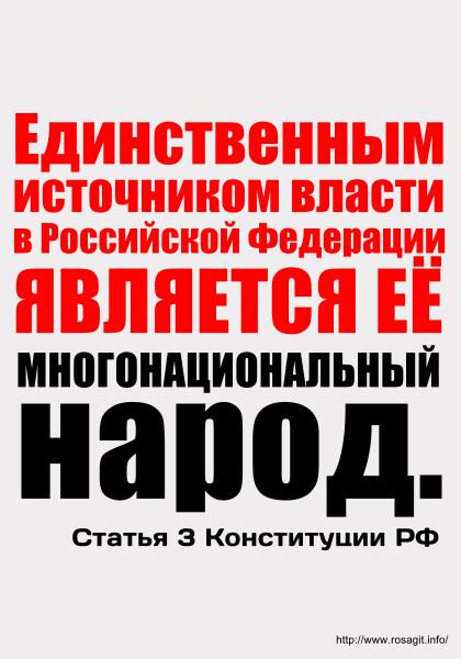 Конституция РФ статья 3