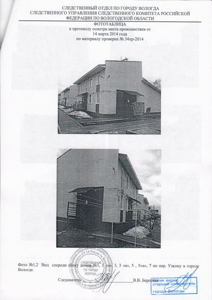 Осмотр места происшествия - Узкий переулок 5