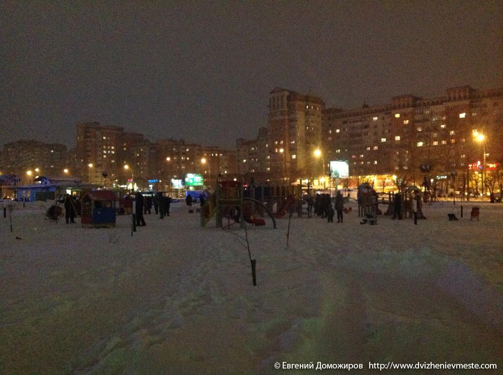 площадь Федулова