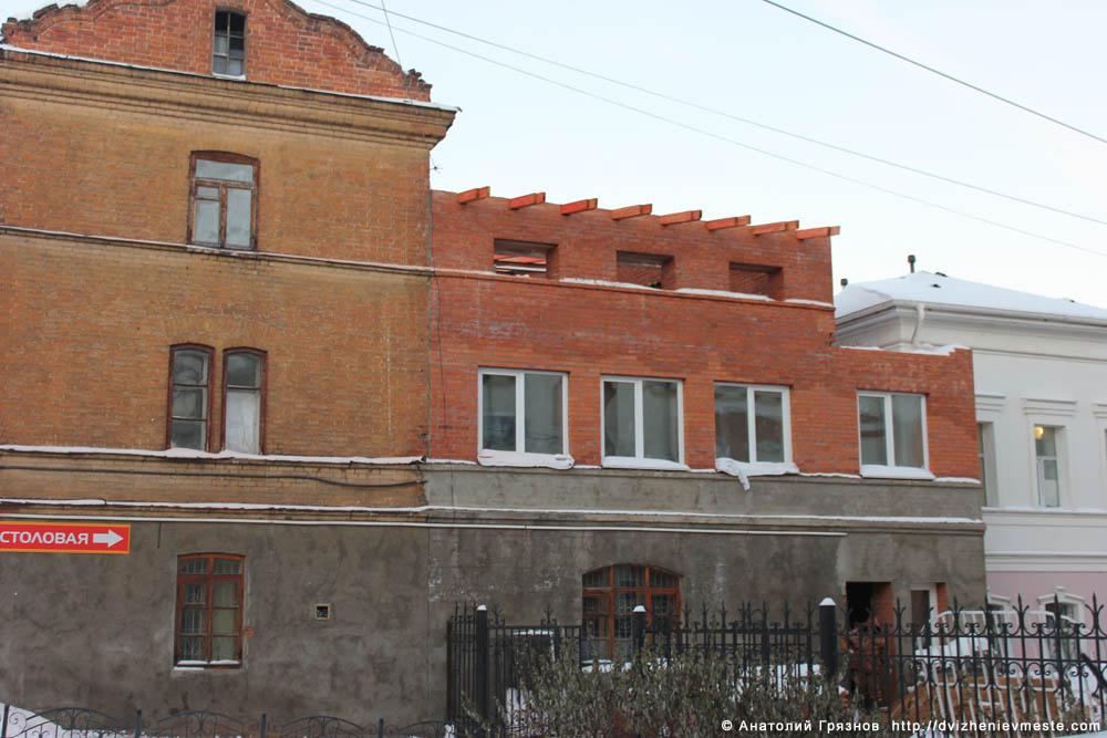 Вологда. Ленина 4, незаконное строительство