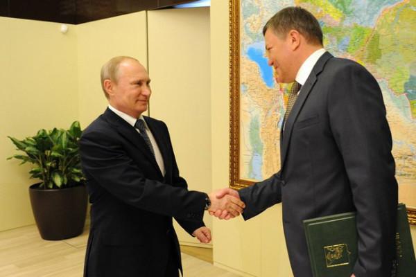 Путин и Кувшинников