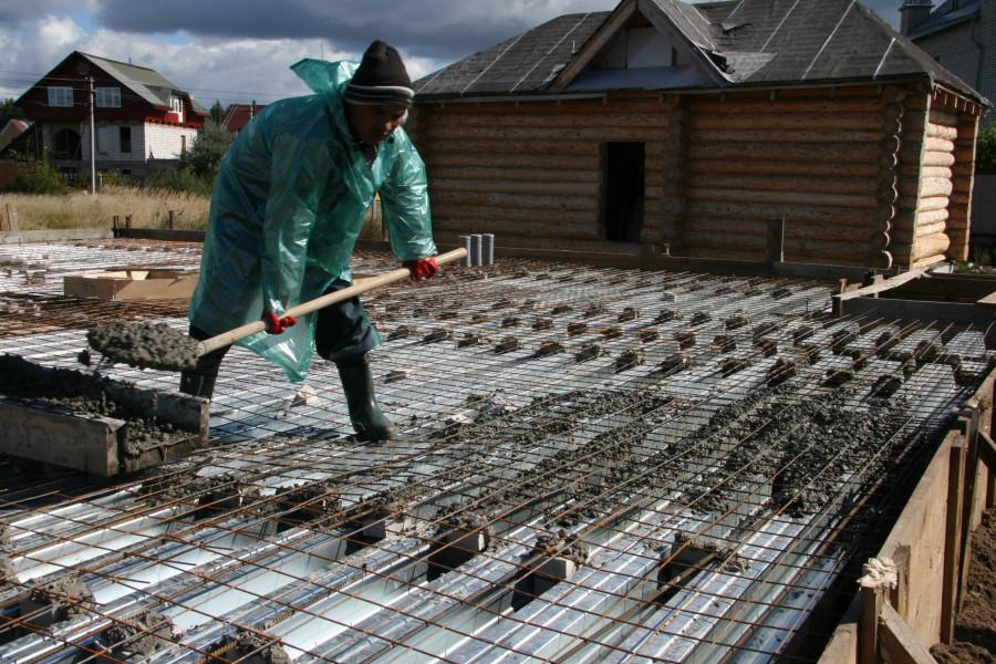 сколько стоит залить потолок бетоном