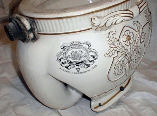 To Stimulate Some Conversation, Here Are Two Images Of An Extraordinarily  Rare Toilet Bowl Made For The J.L.Mott Iron Works Co. By The John Dimmock U0026  Co.