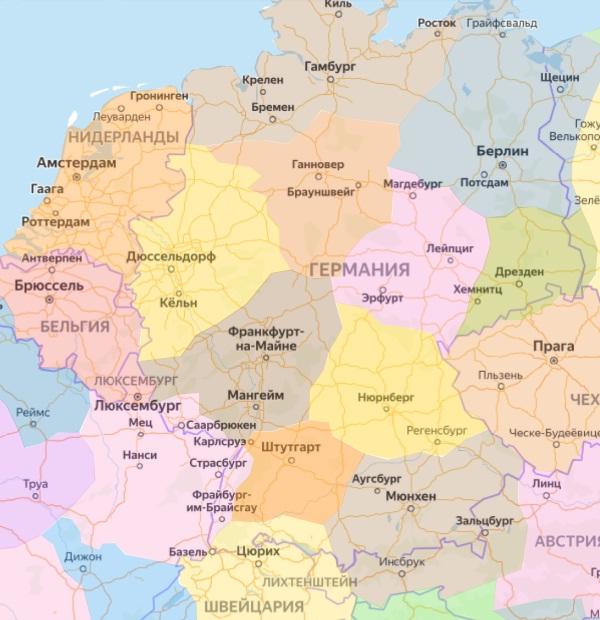 Регионы Германии