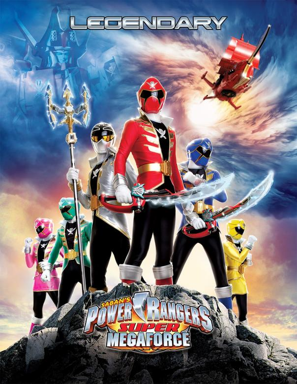 Power Rangers Super Megaforce 01