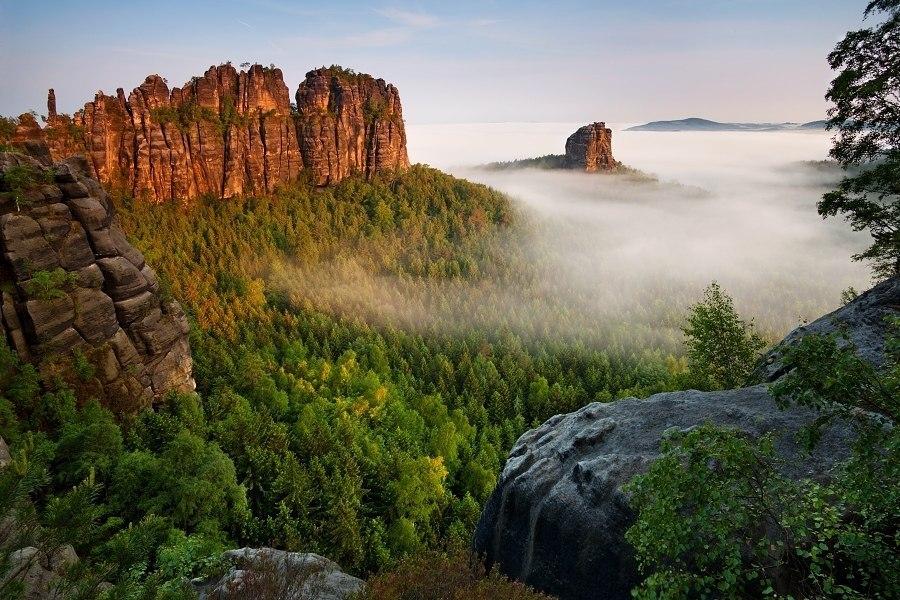 Эльбские Песчаниковые горы, Германия