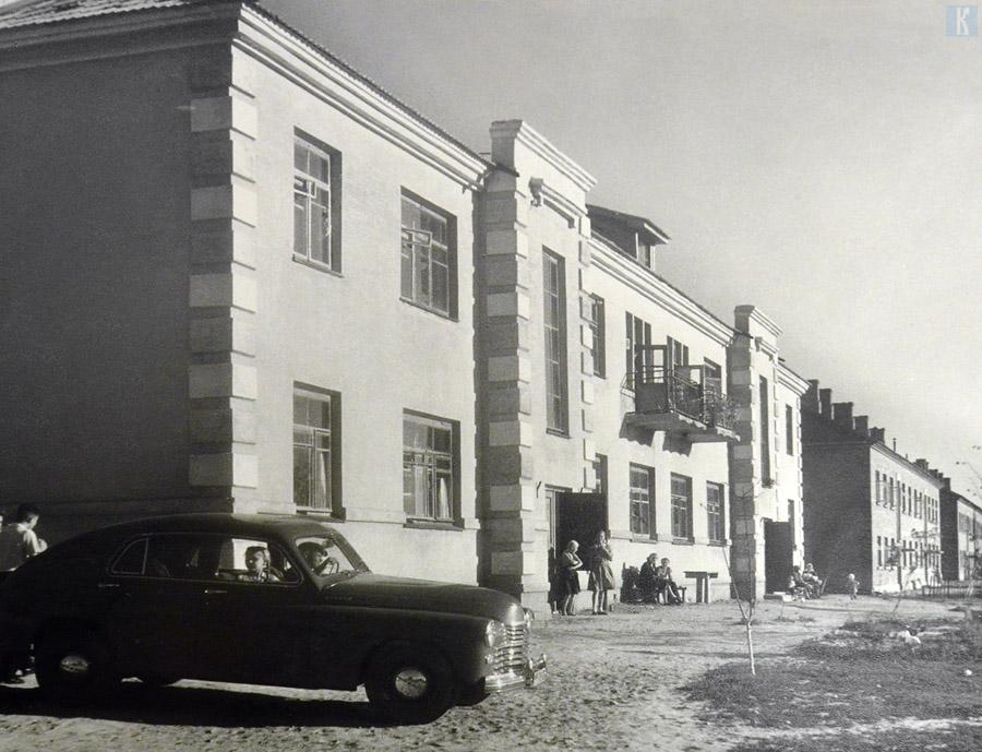 Жилые дома. Начало 50-х годов
