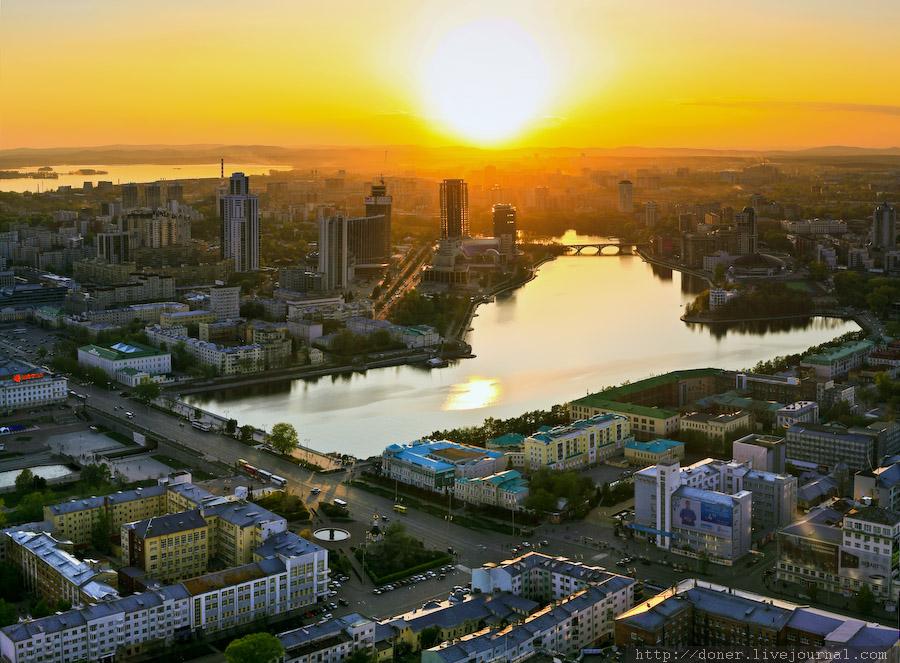 Екатеринбург закат