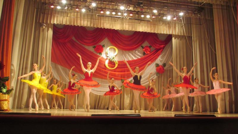 Лера балет
