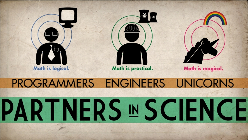 how-progrmmers-engineers-unicorns-think-of-science-and-mathematics-humor-852x480