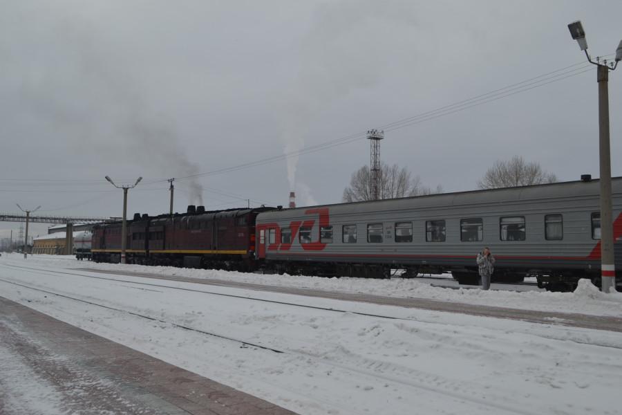 Россия из окна поезда Часть 2 Ямал  Железная дорога