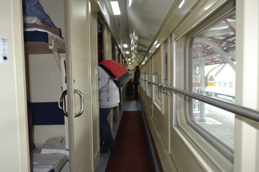 Двухэтажные поезда.