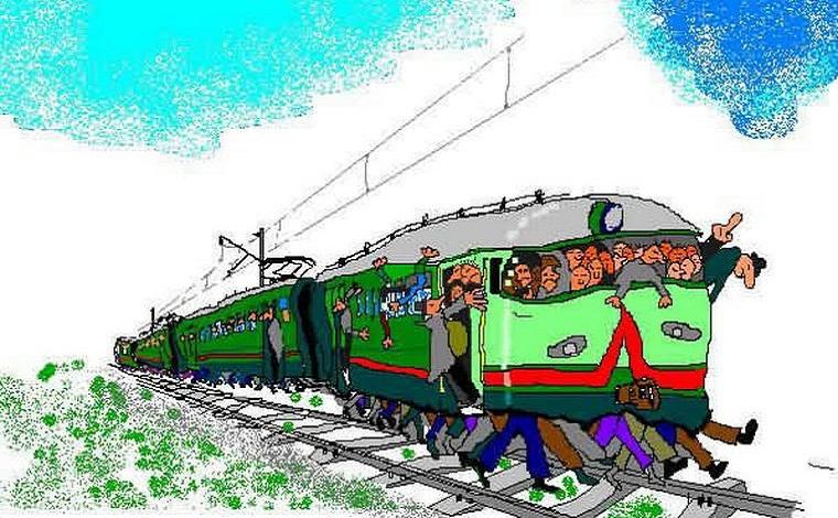 Поезд веселые картинки, про свету