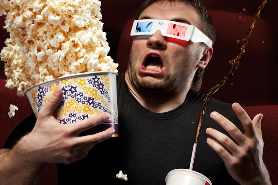 Картинки с попкорном и кинотеатром
