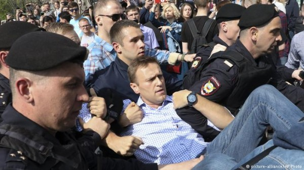 О протестах в РФ