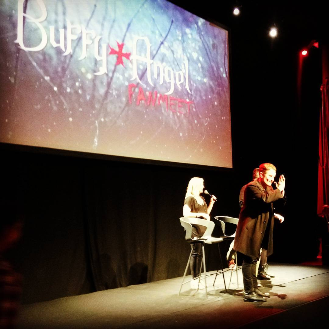 James Marsters, Clare Kramer & Nicholas Brendon Buffy Angel FanMeet 2016-01-31