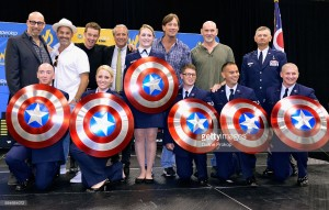 James Marsters, Nicholas Brendon, Kevin Sorbo, Mitch Pileggi Heroes Honoring Heroes