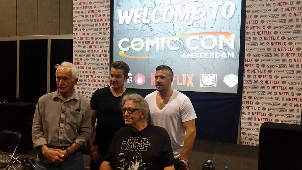 James Marsters, Lance Henriksen, Peter Mayhew & Ray Park Amsterdam Comic Con