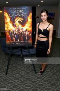 Jasmin Marsters Dragon Warriors Premiere